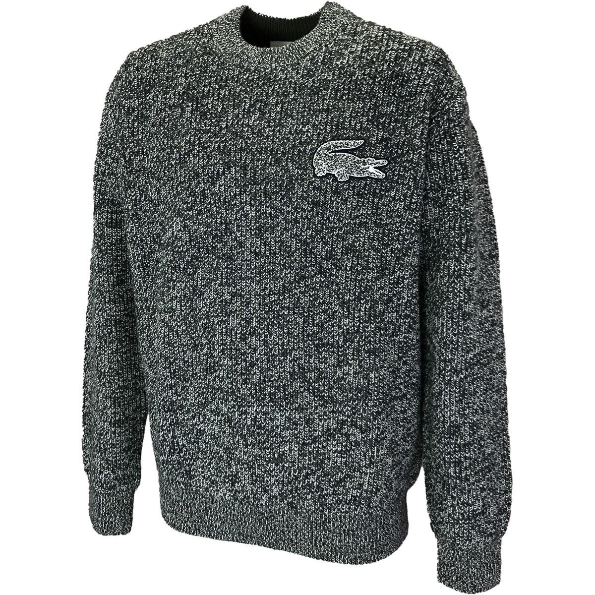 ラコステ ワニロゴパッチニットセーター
