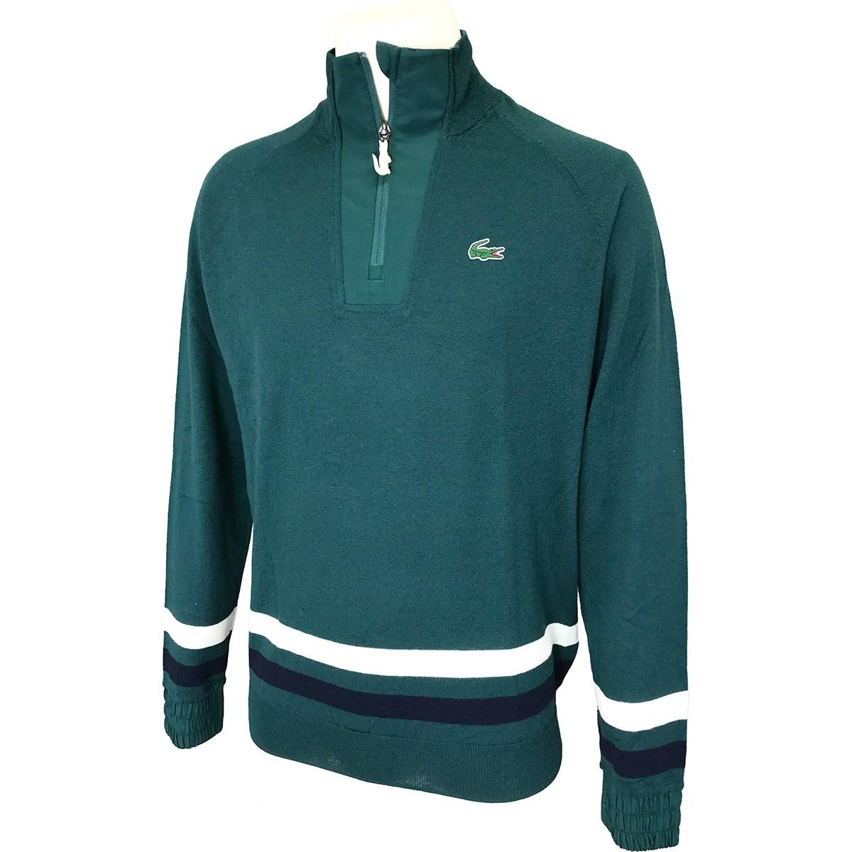 ラコステ LACOSTE SPORT Coolmax(R) ハーフジップウールゴルフセーター