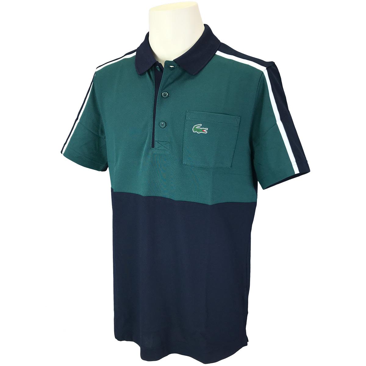 ショルダーラインドゴルフ 半袖ポロシャツ