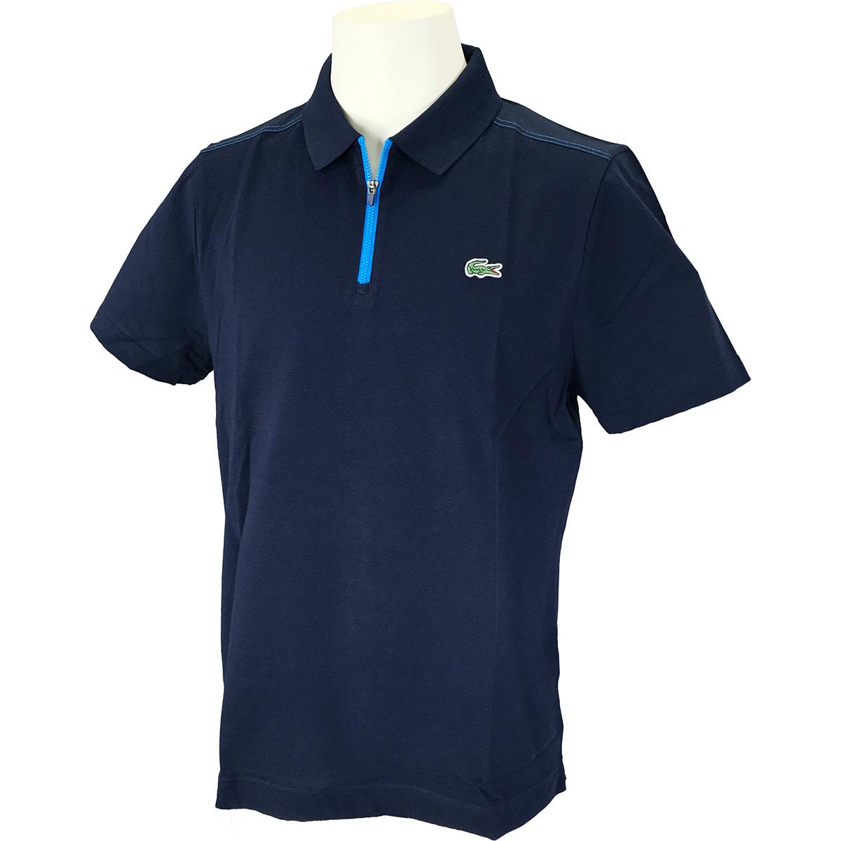 ドライコットン×メッシュ 半袖ポロシャツ