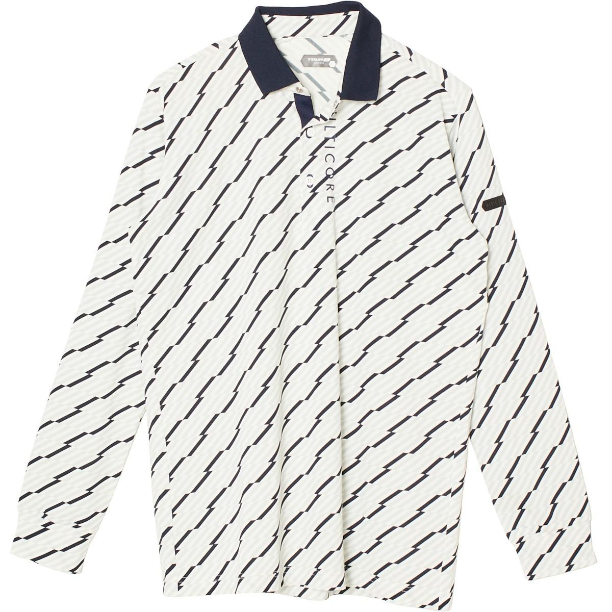 ブリヂストン(BRIDGESTONE GOLF) 3D解析 長袖台衿ポロシャツ