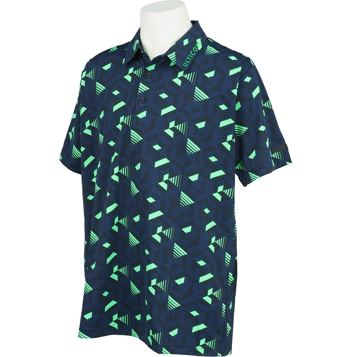 3D解析 半袖共衿ポロシャツ