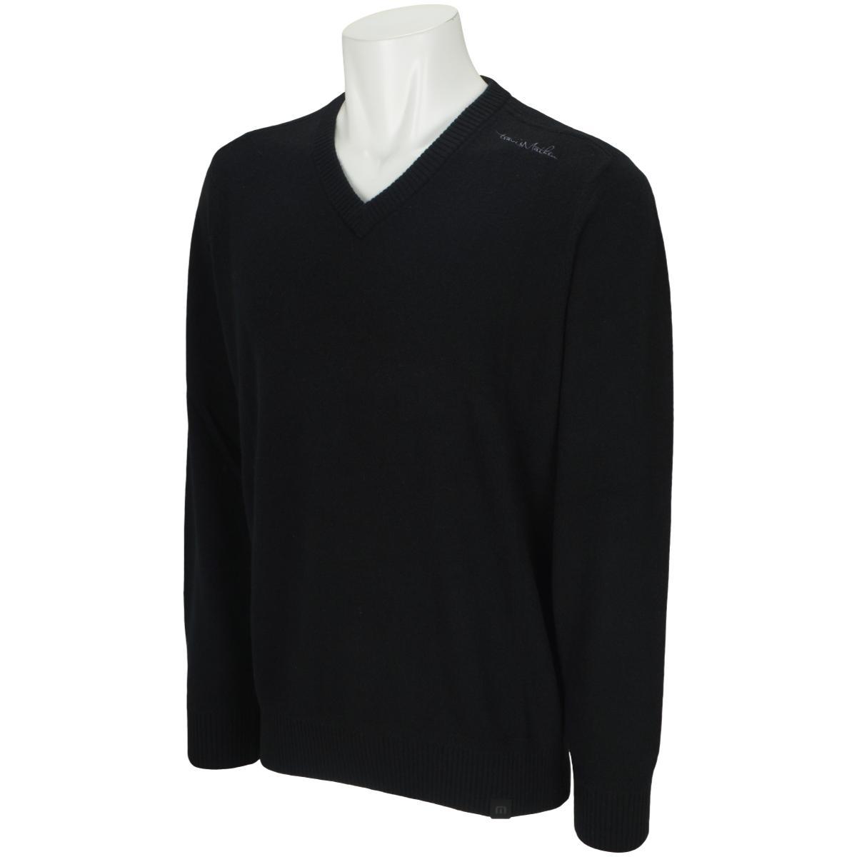 Vネックカシミヤセーター