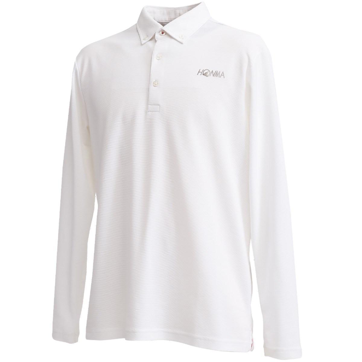 本間ゴルフ(HONMA GOLF) ボタンダウン長袖ポロシャツ