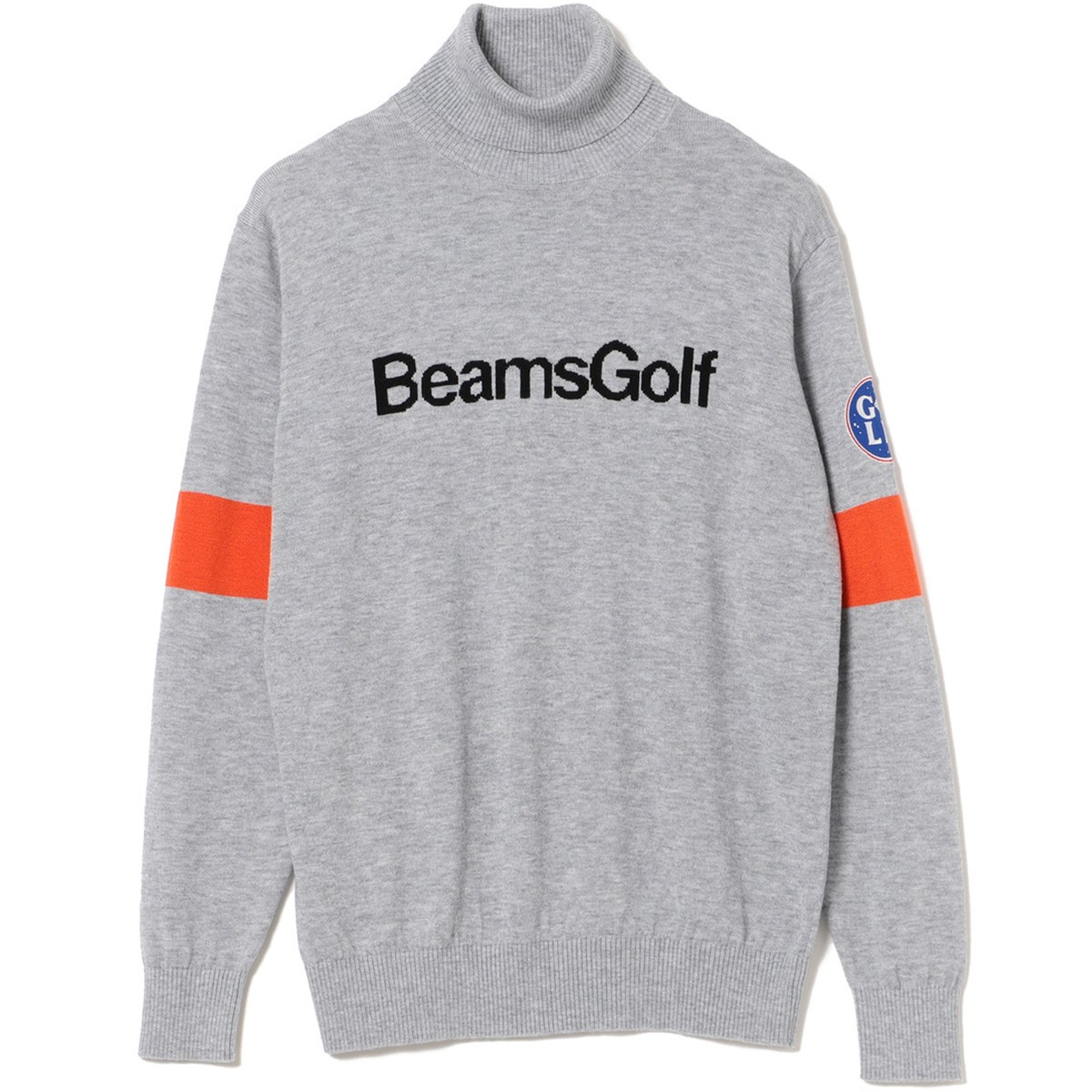 ビームスゴルフ 袖ラインタートルネック セーター