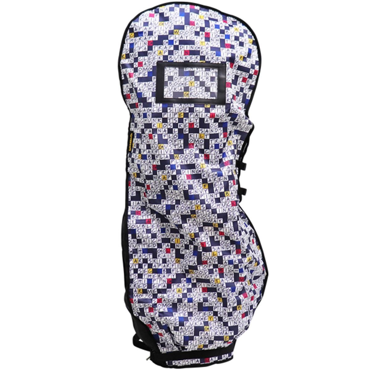 ラウドマウスゴルフ Loud Mouth Golf トラベルカバー Golfword Puzzle Navy 266