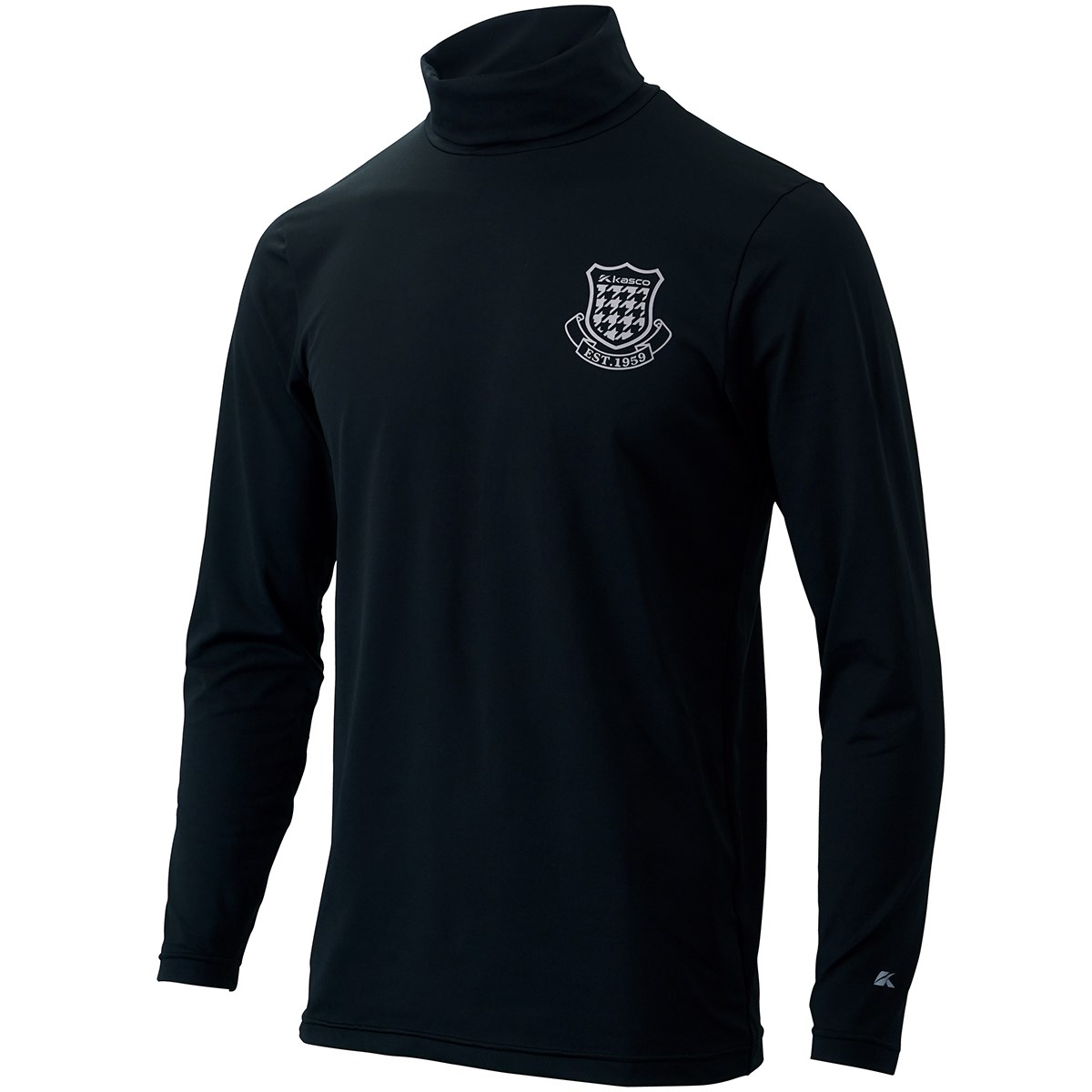 キャスコ KASCO タートルネックシャツ M ブラック