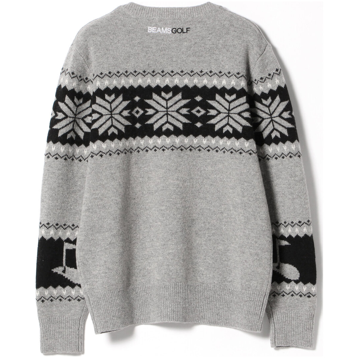 BEAMS GOLF ORANGE LABEL ノルディック セーター