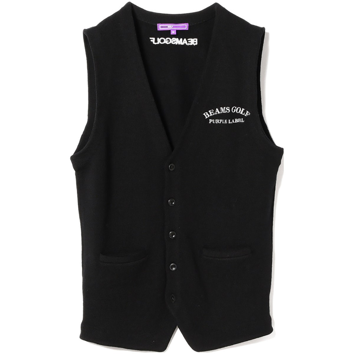 ビームスゴルフ BEAMS GOLF PURPLELABEL CASHFEEL ベスト