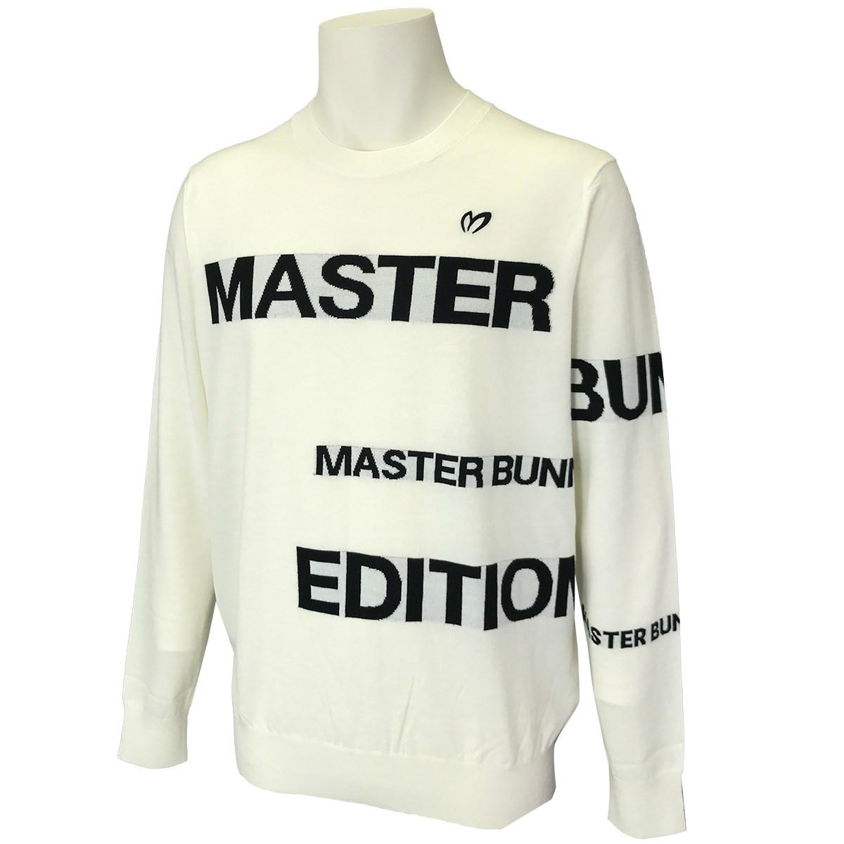 マスターバニーエディション ジャカード×天竺セーター