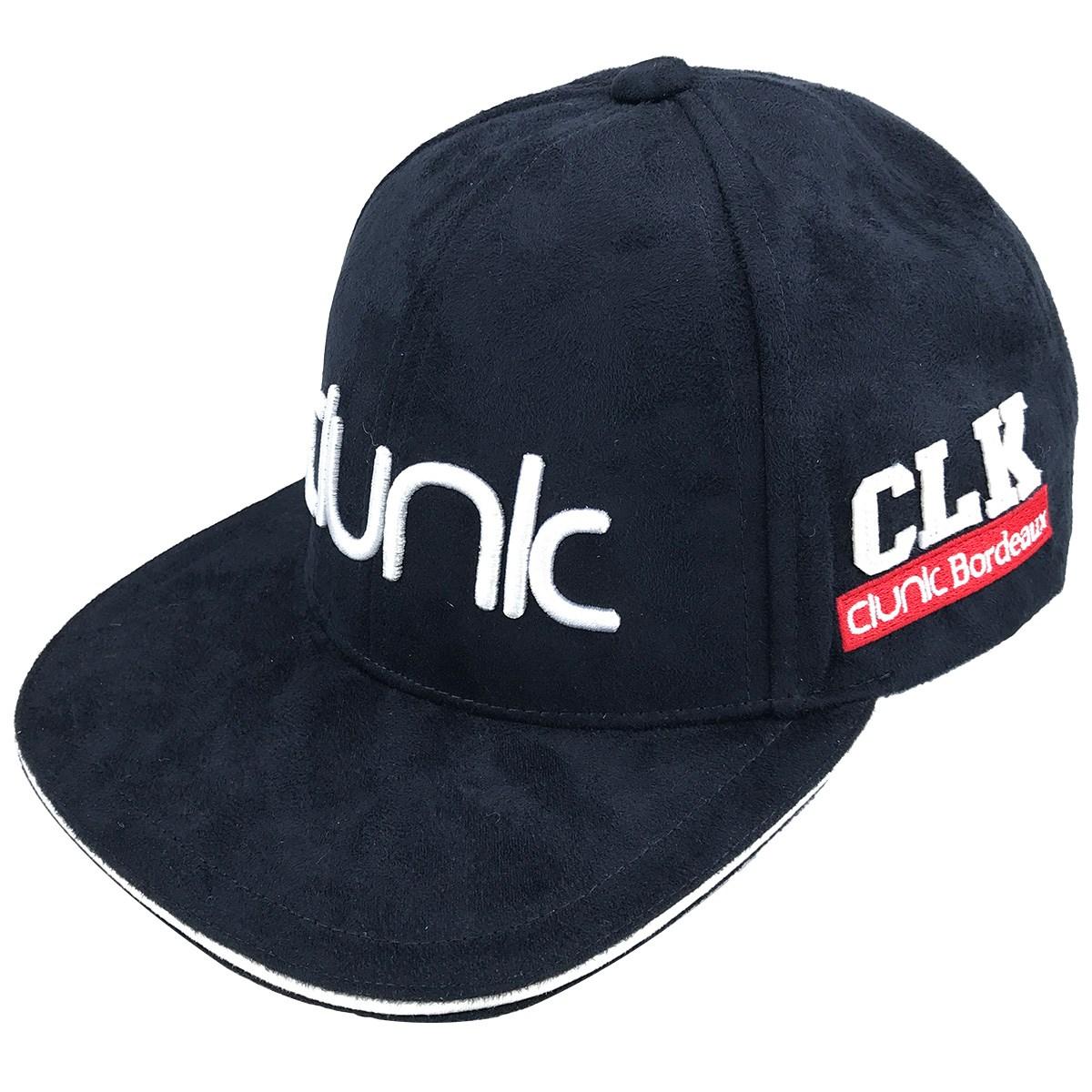 クランク(Clunk) スウェードフラットバイザーキャップ
