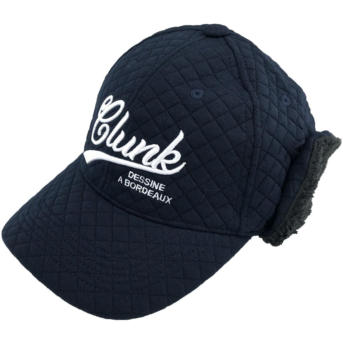 クランク(Clunk) ニットキルトシコロ付きキャップ