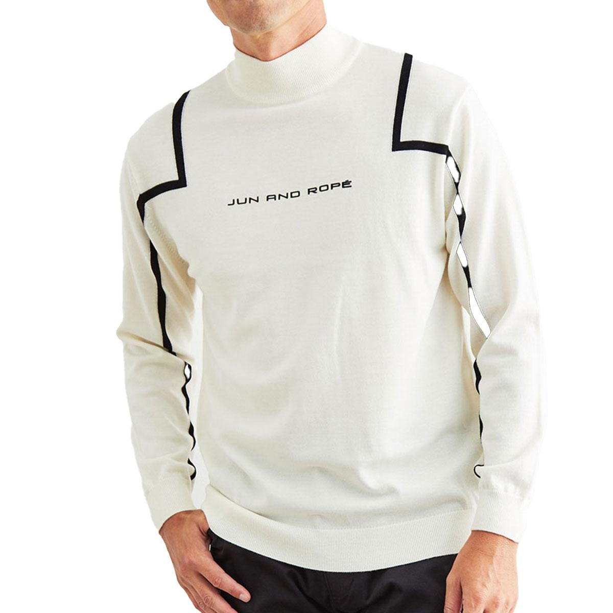 フロントロゴライン使い長袖プルオーバー
