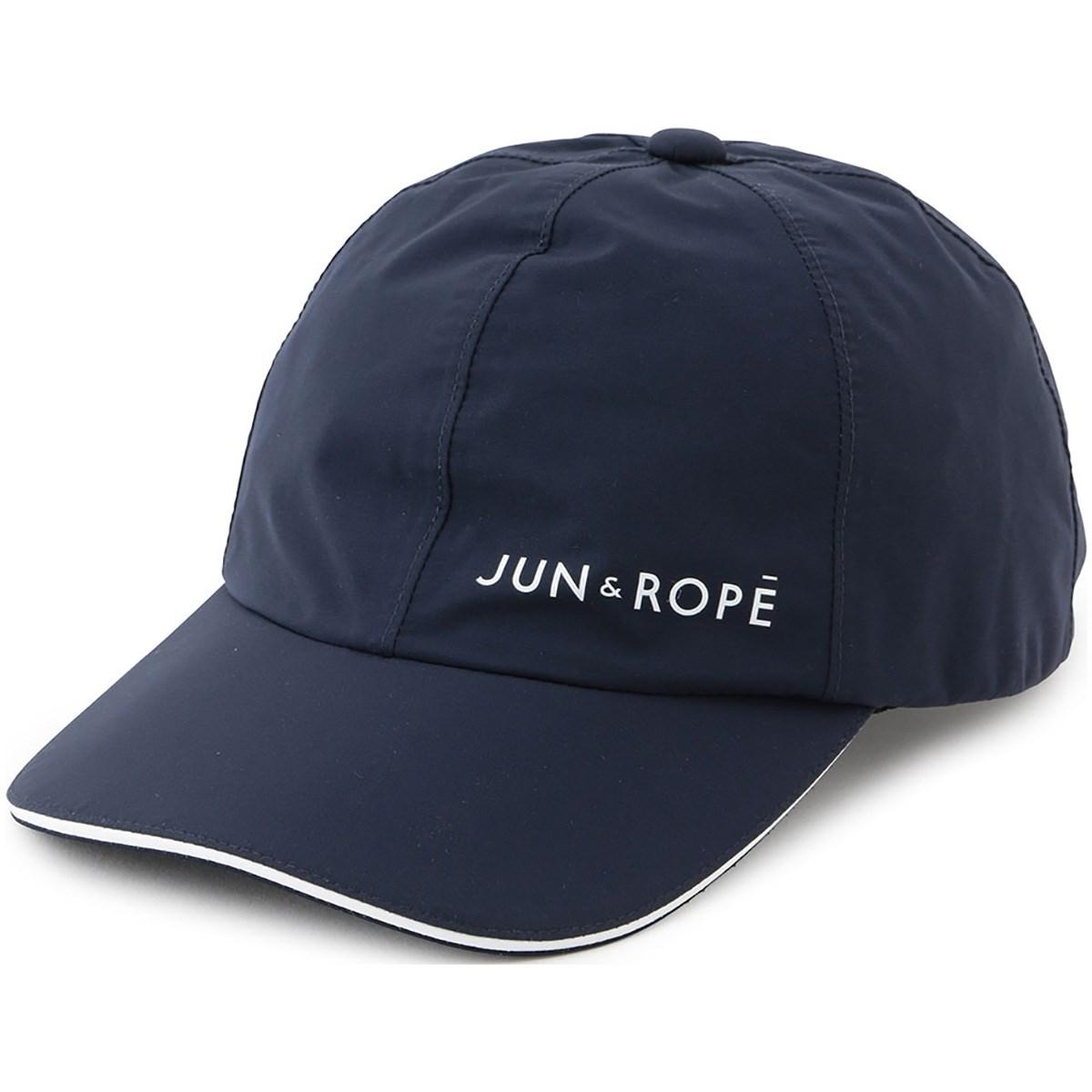 ジュン アンド ロペ JUN & ROPE レインキャップ フリー ネイビー 40 レディス