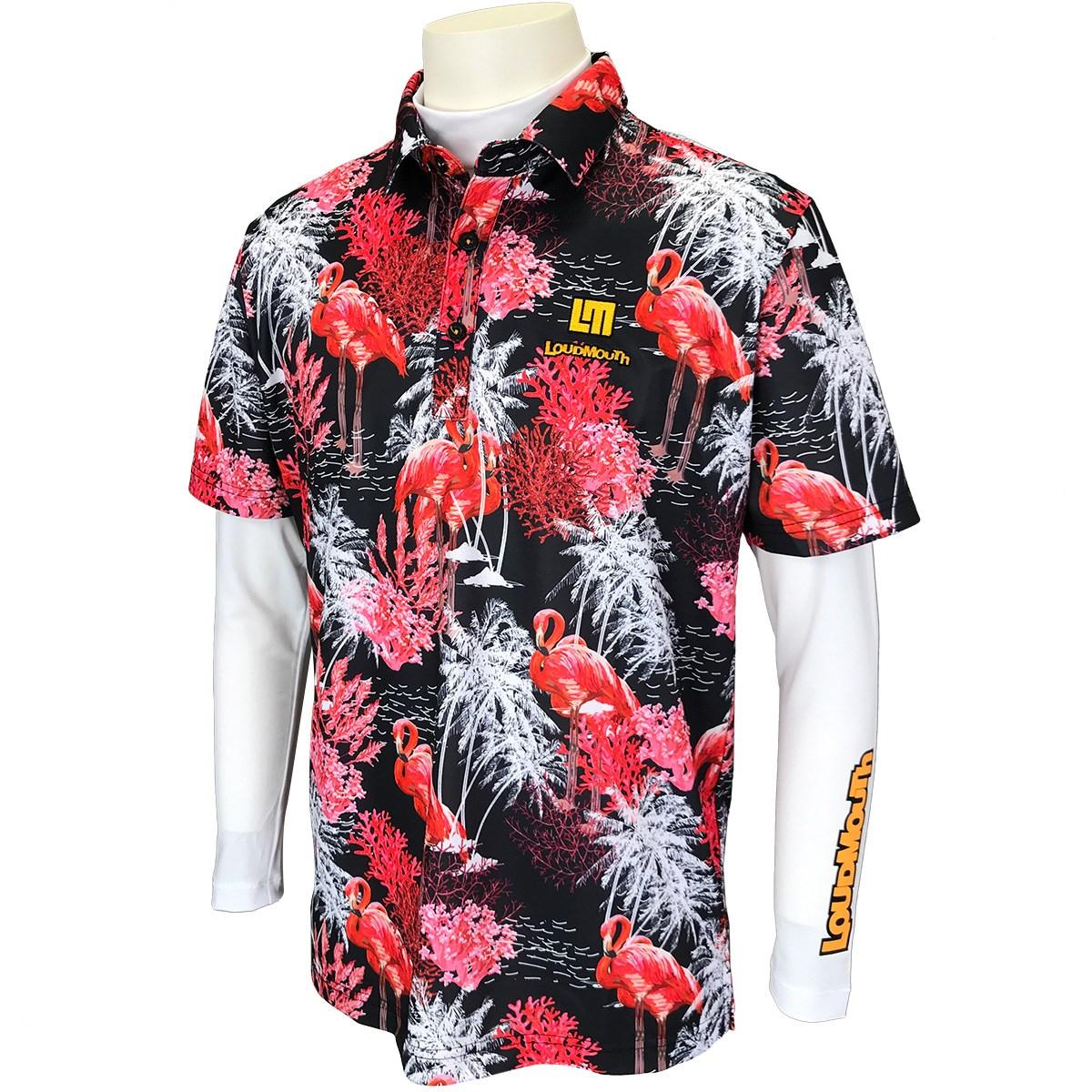 ラウドマウスゴルフ(LOUDMLOUTH) 半袖ポロシャツ&長袖インナーシャツセット