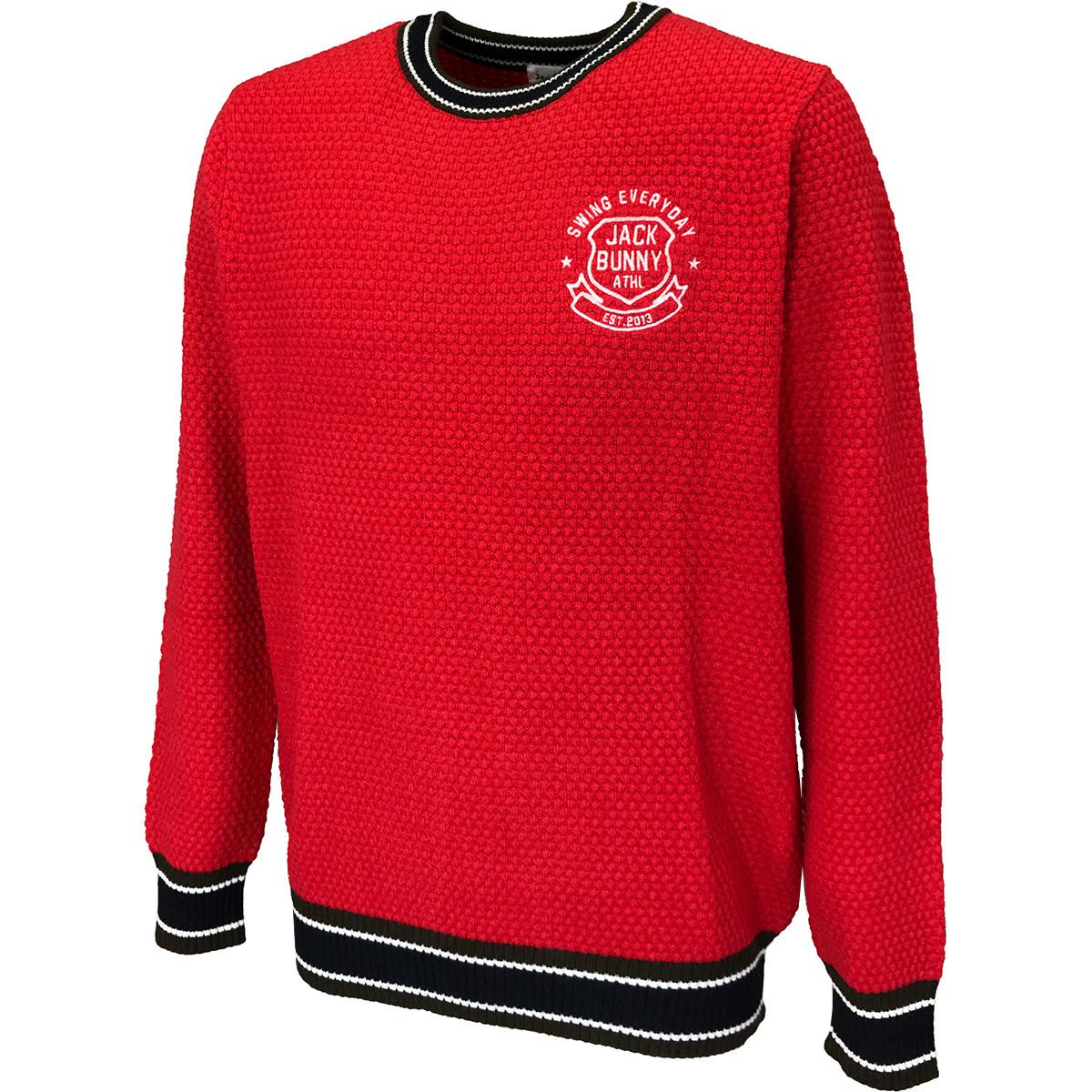 ポップコーン編みセーター