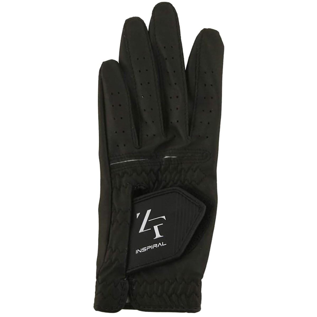 イオンスポーツ ZERO FIT インスパイラル ゴルフ グローブ 24cm 左手着用(右利き用) ブラック