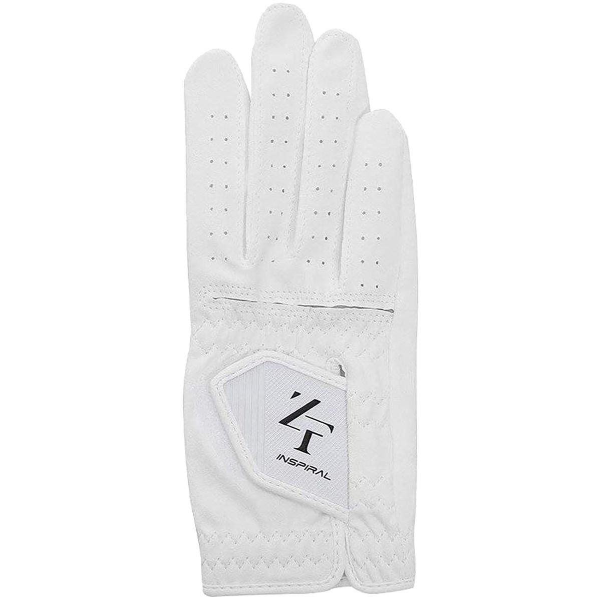 イオンスポーツ ZERO FIT インスパイラル ゴルフ グローブ レフティ 21cm 右手着用(左利き用) ホワイト