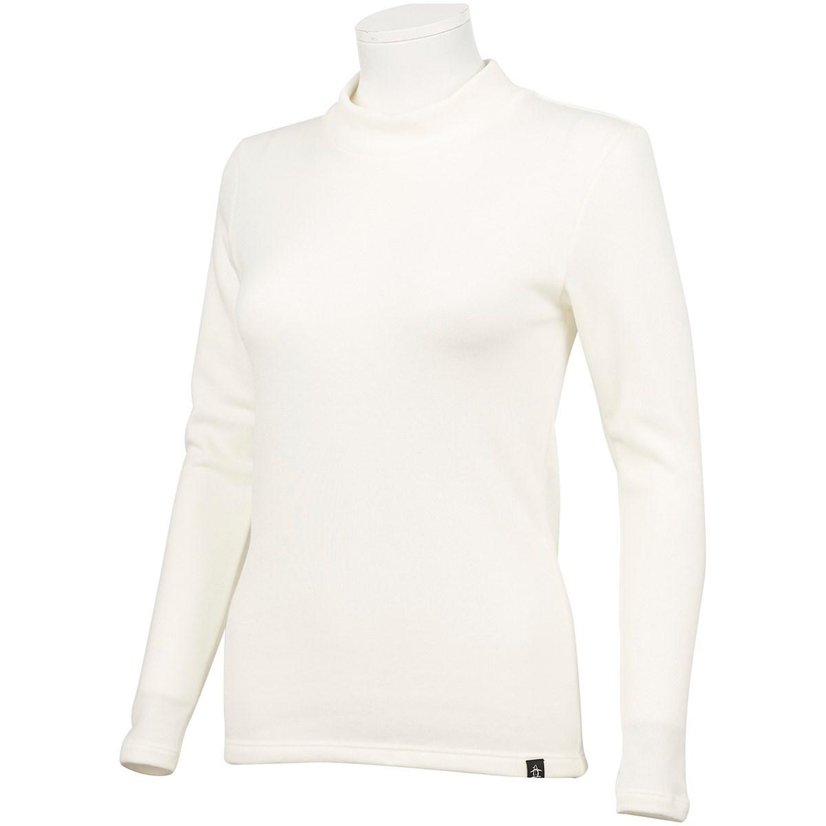 マンシングウェア Munsingwear 長袖アンダーウェア M ホワイト 00 レディス