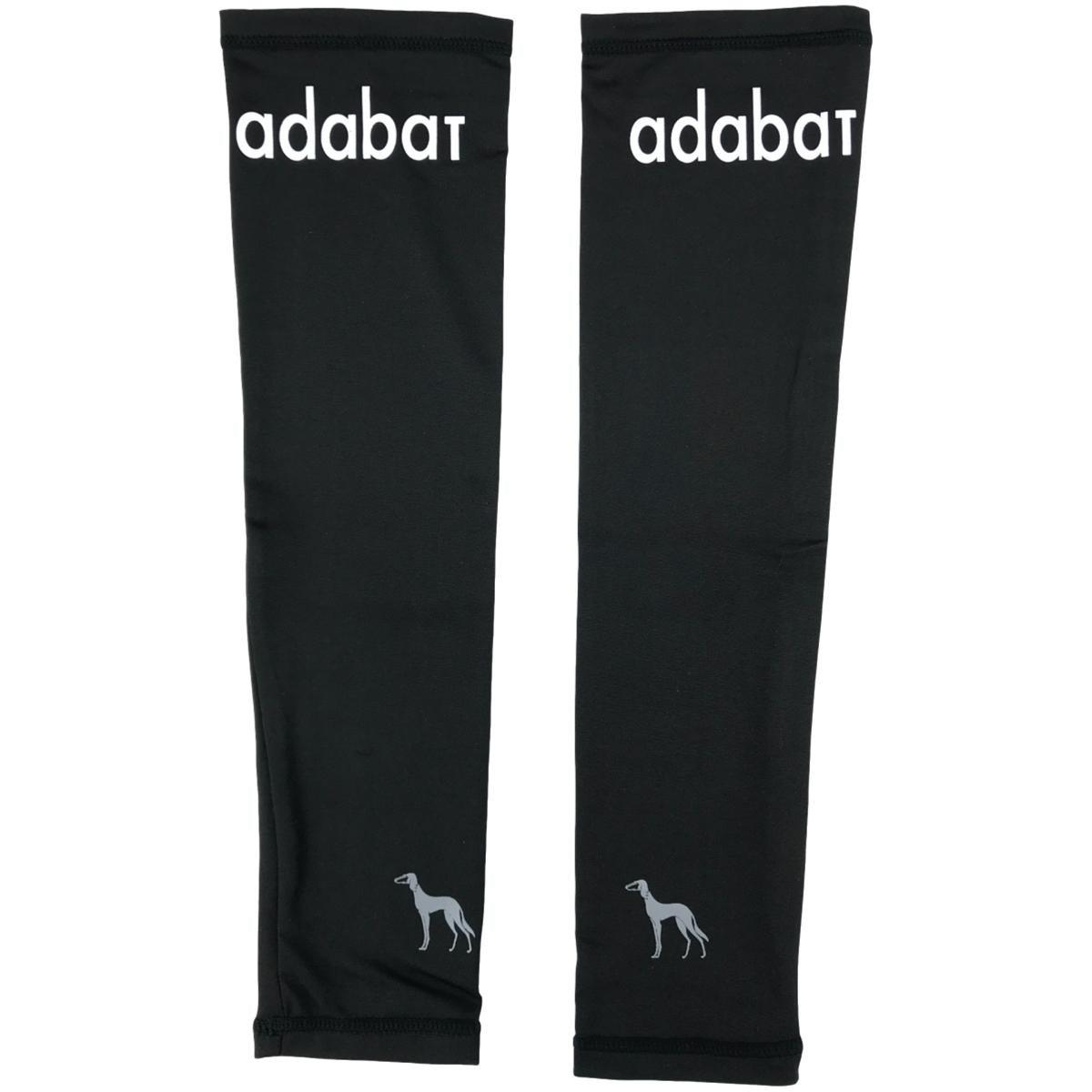アダバット adabat 肩ロゴアームカバー ブラック 98 フリー レディス