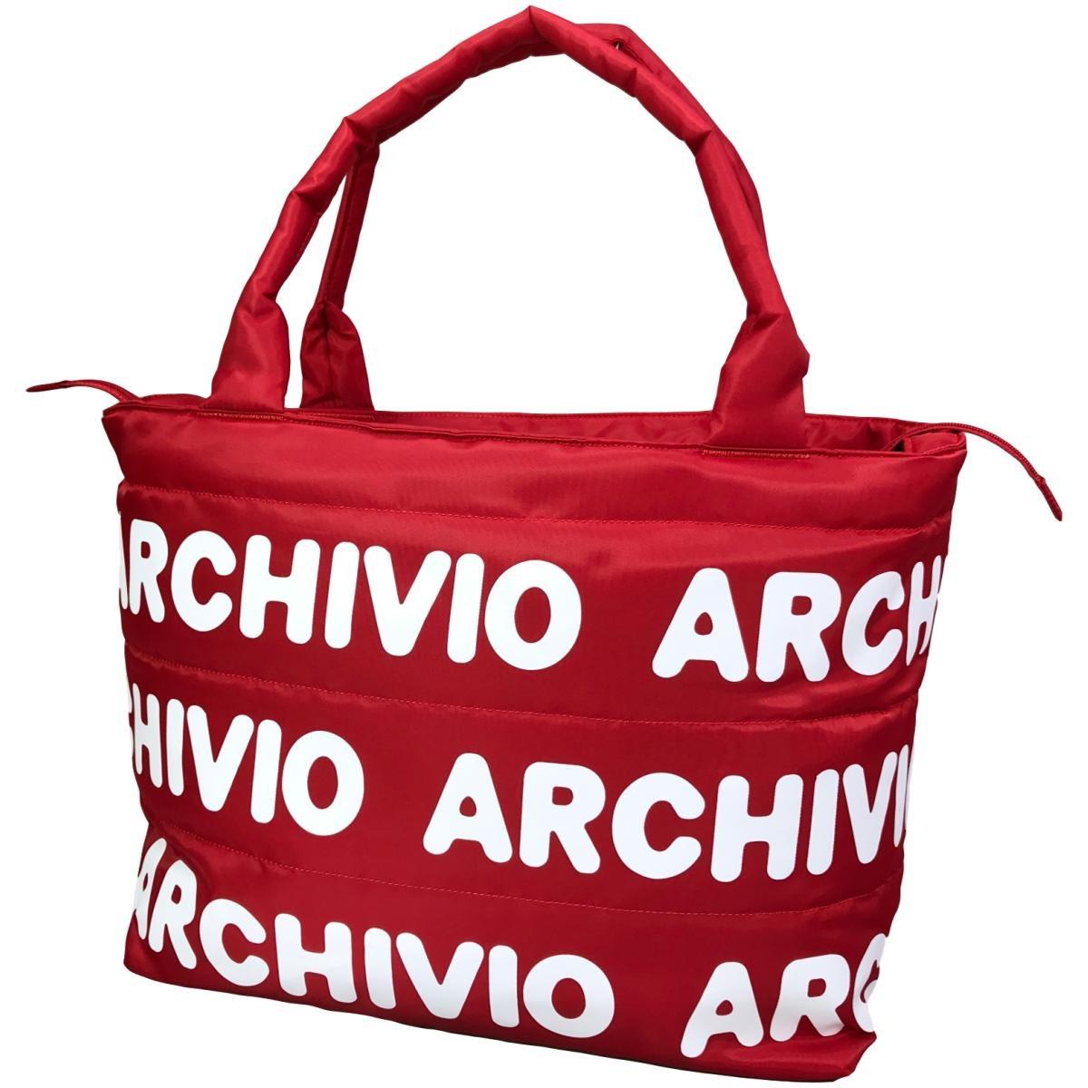 アルチビオ archivio ナイロンバッグ レッド 120 レディス