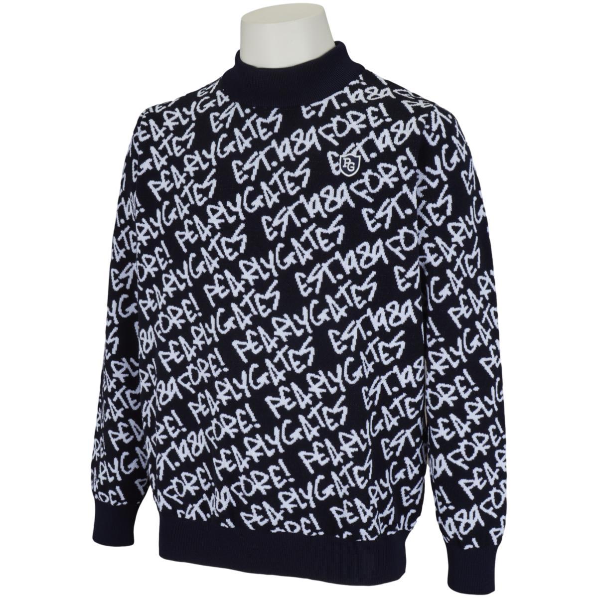 カルセーナ らくがきロゴ 長袖セーター