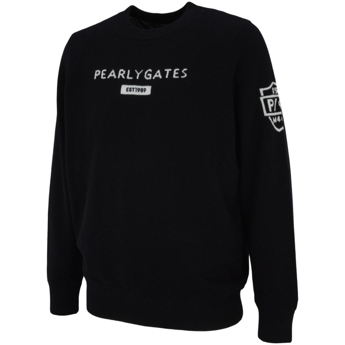 パーリーゲイツ カシミヤ×DIAPLEX 長袖セーター