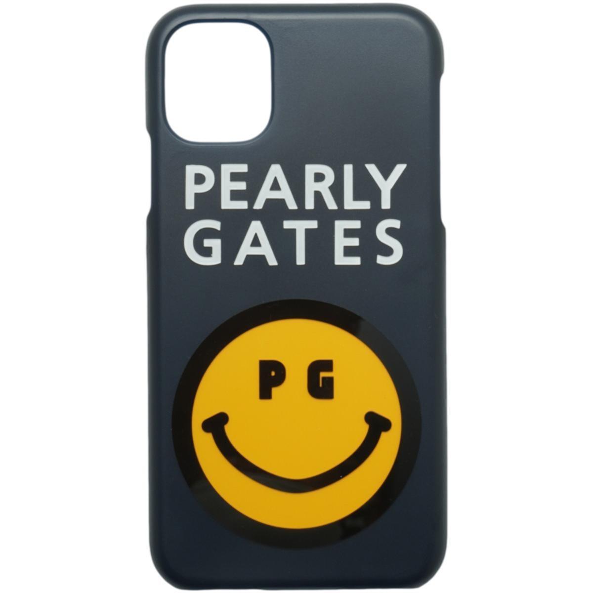[2020年モデル] パーリーゲイツ PEARLY GATES ニコちゃん iPhone11対応ケース ネイビー 120 ゴルフ