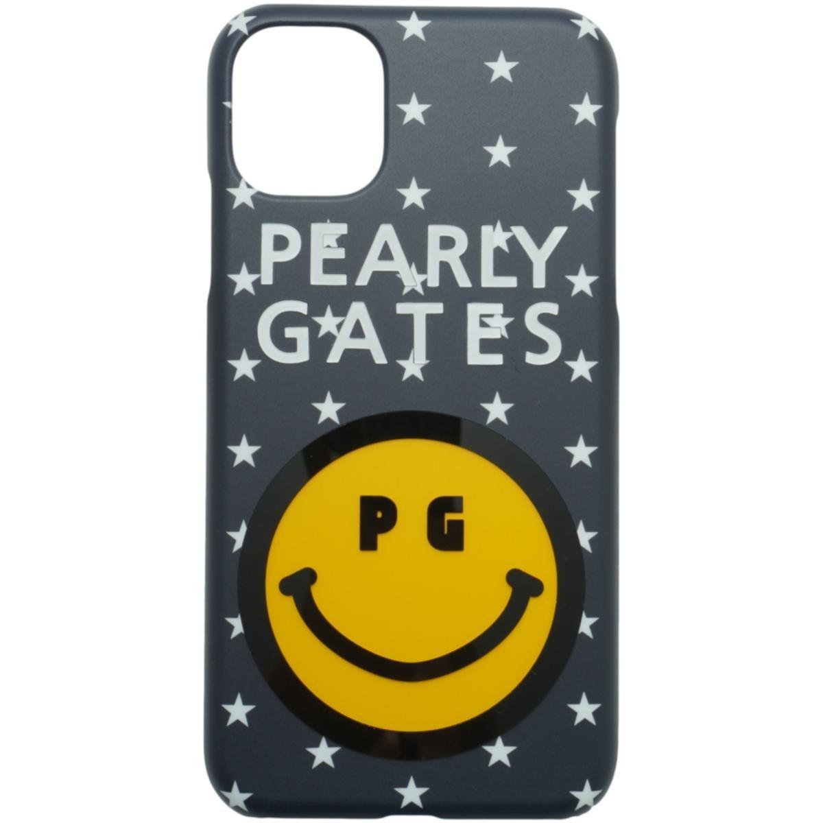 [2020年モデル] パーリーゲイツ PEARLY GATES ニコちゃん iPhone11対応ケース ネイビー/星 122 ゴルフ