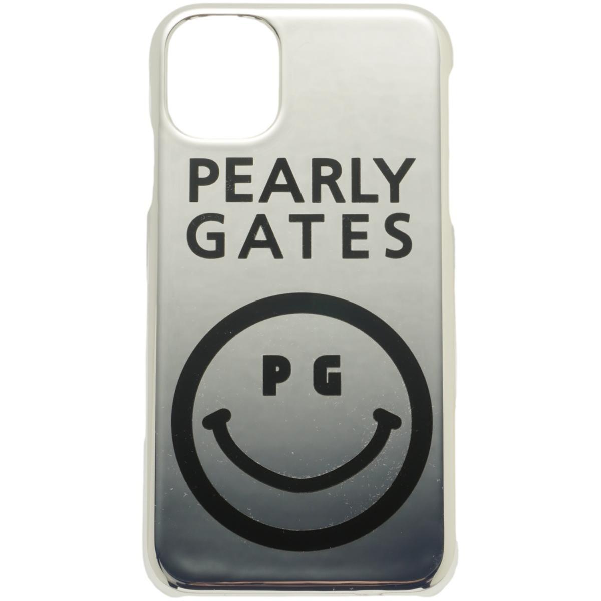 [2020年モデル] パーリーゲイツ PEARLY GATES ニコちゃん iPhone11対応ケース シルバー 160 ゴルフ