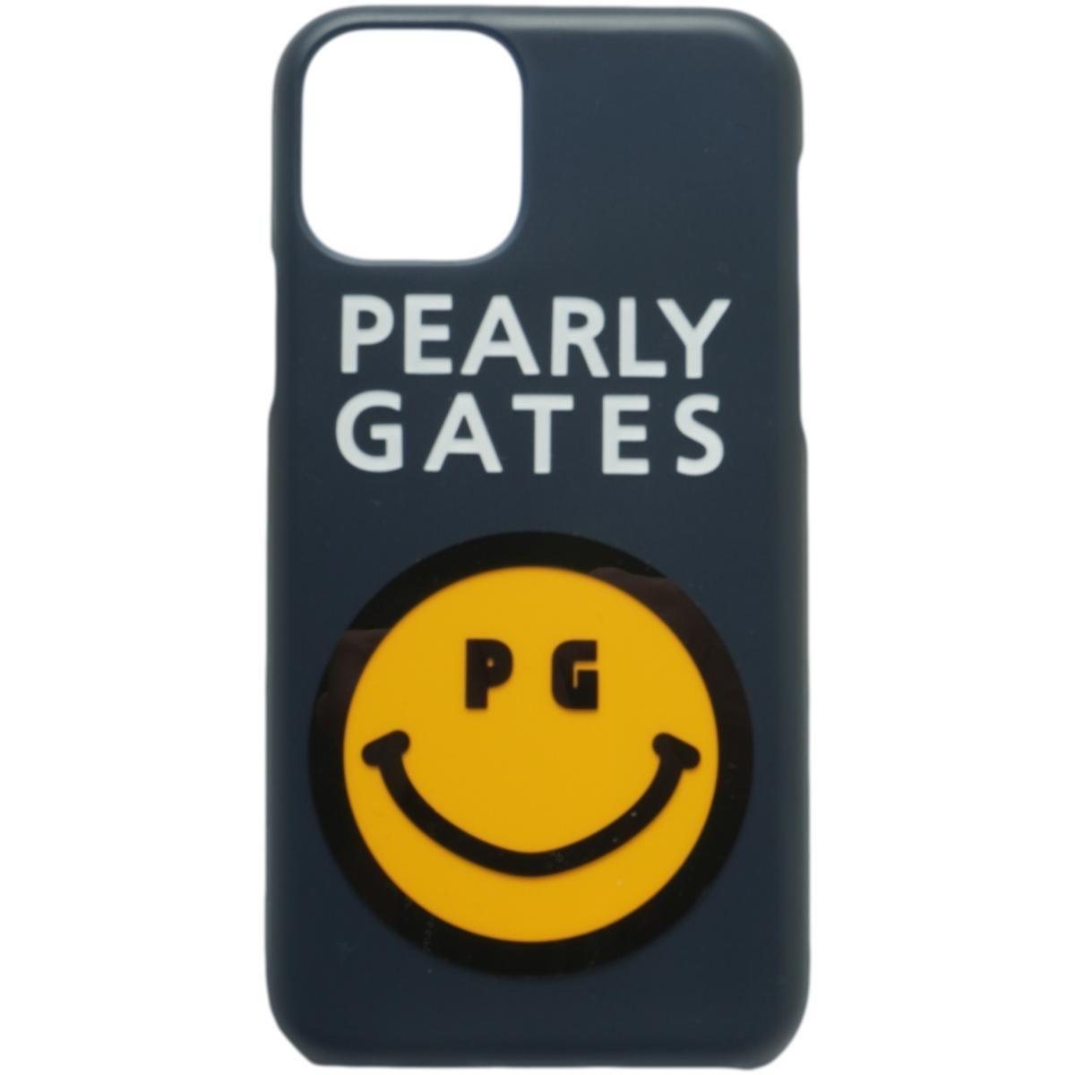 [2020年モデル] パーリーゲイツ PEARLY GATES ニコちゃん iPhone11pro対応ケース ネイビー 120 ゴルフ