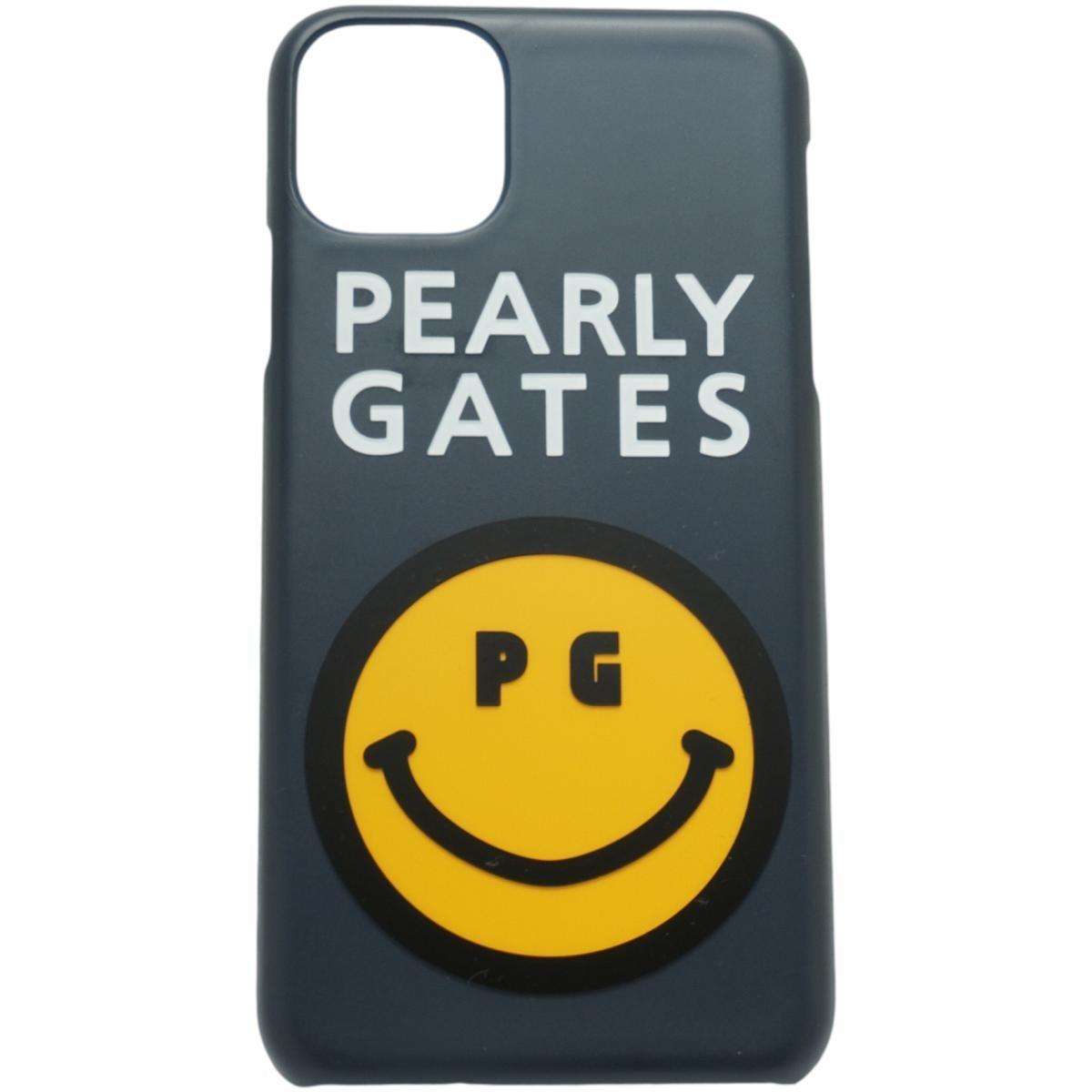 [2020年モデル] パーリーゲイツ PEARLY GATES ニコちゃん iPhone11proMax対応ケース ネイビー 120 ゴルフ
