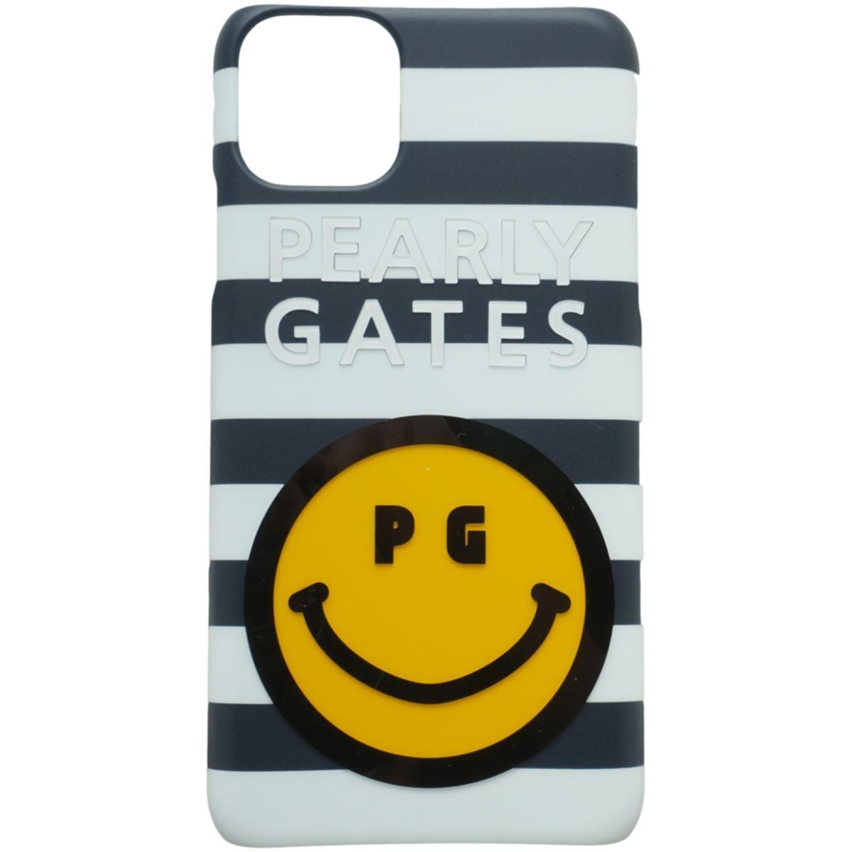 [2020年モデル] パーリーゲイツ PEARLY GATES ニコちゃん iPhone11proMax対応ケース ネイビー/ホワイト 121 ゴルフ