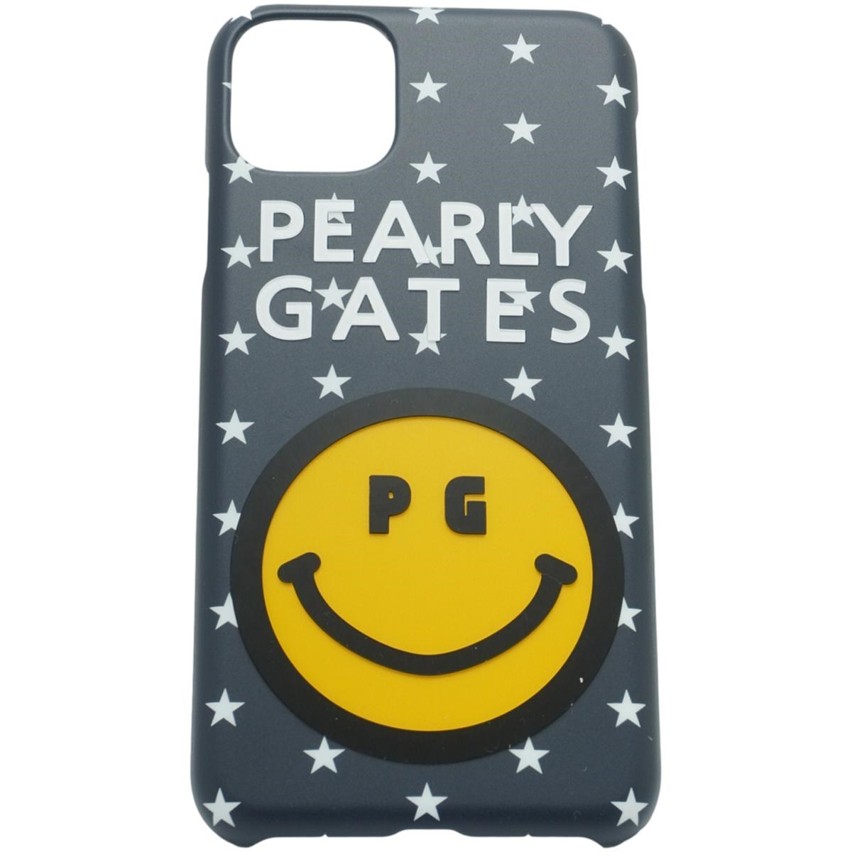 [2020年モデル] パーリーゲイツ PEARLY GATES ニコちゃん iPhone11proMax対応ケース ネイビー/星 122 ゴルフ