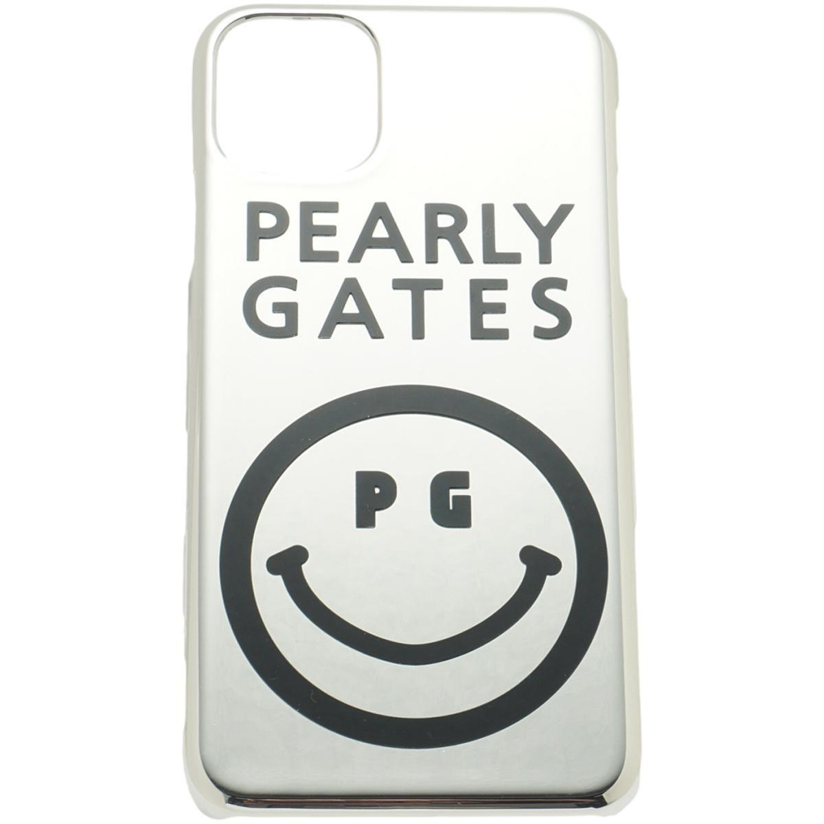 [2020年モデル] パーリーゲイツ PEARLY GATES ニコちゃん iPhone11proMax対応ケース シルバー 160 ゴルフ