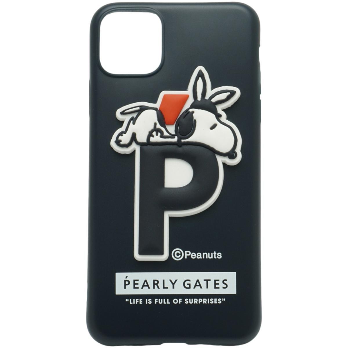 [2020年モデル] パーリーゲイツ PEARLY GATES SNOOPY iPhone11proMax対応ケース ネイビー 120 ゴルフ