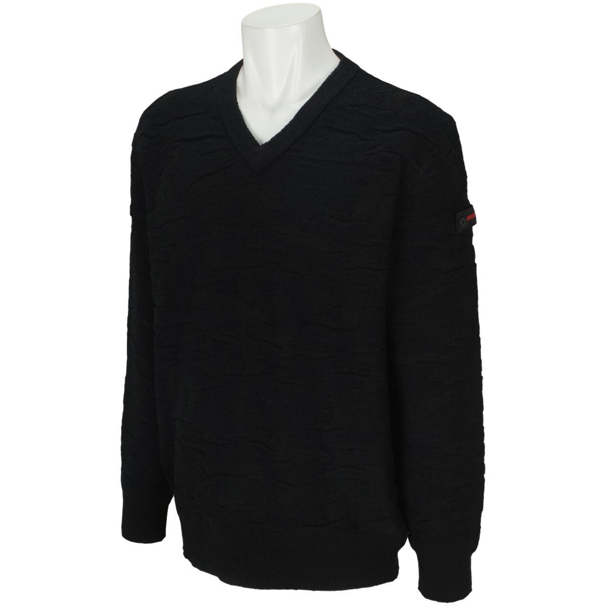 ブリーフィング カモ LINKS Vネックセーター