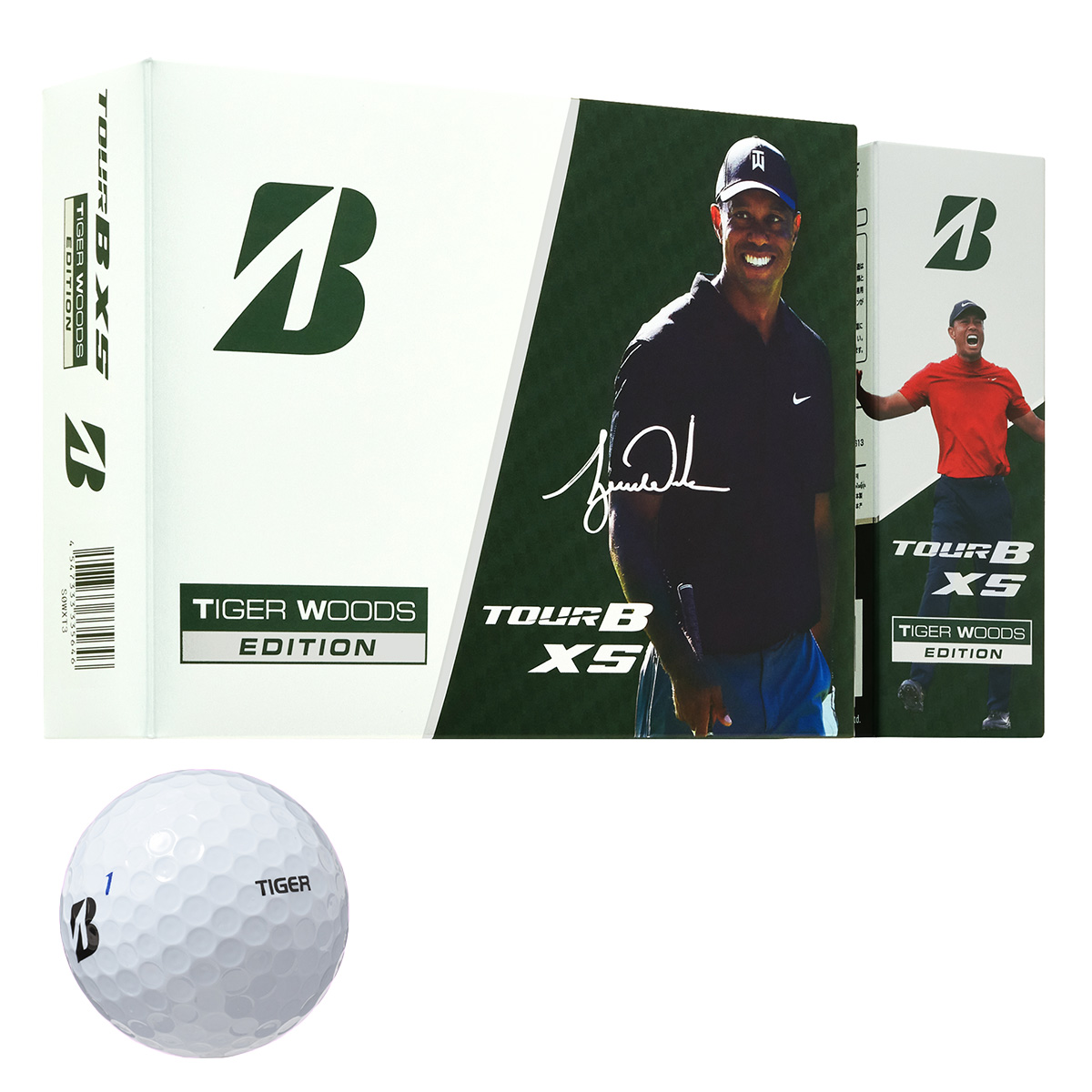 TOUR B XS Tiger Woods Edition ボール