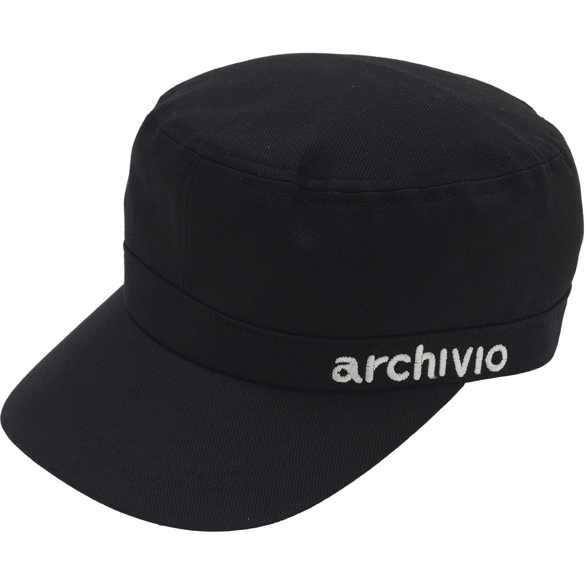 アルチビオ archivio ワークキャップ フリー ブラック