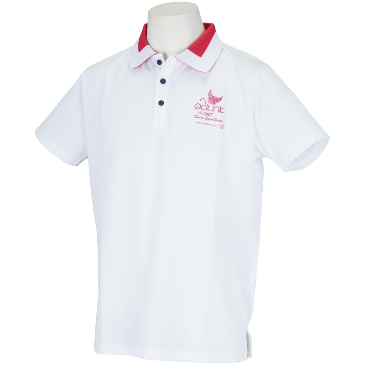 クランク(Clunk) COLLAR ACCSENT 半袖ポロシャツ