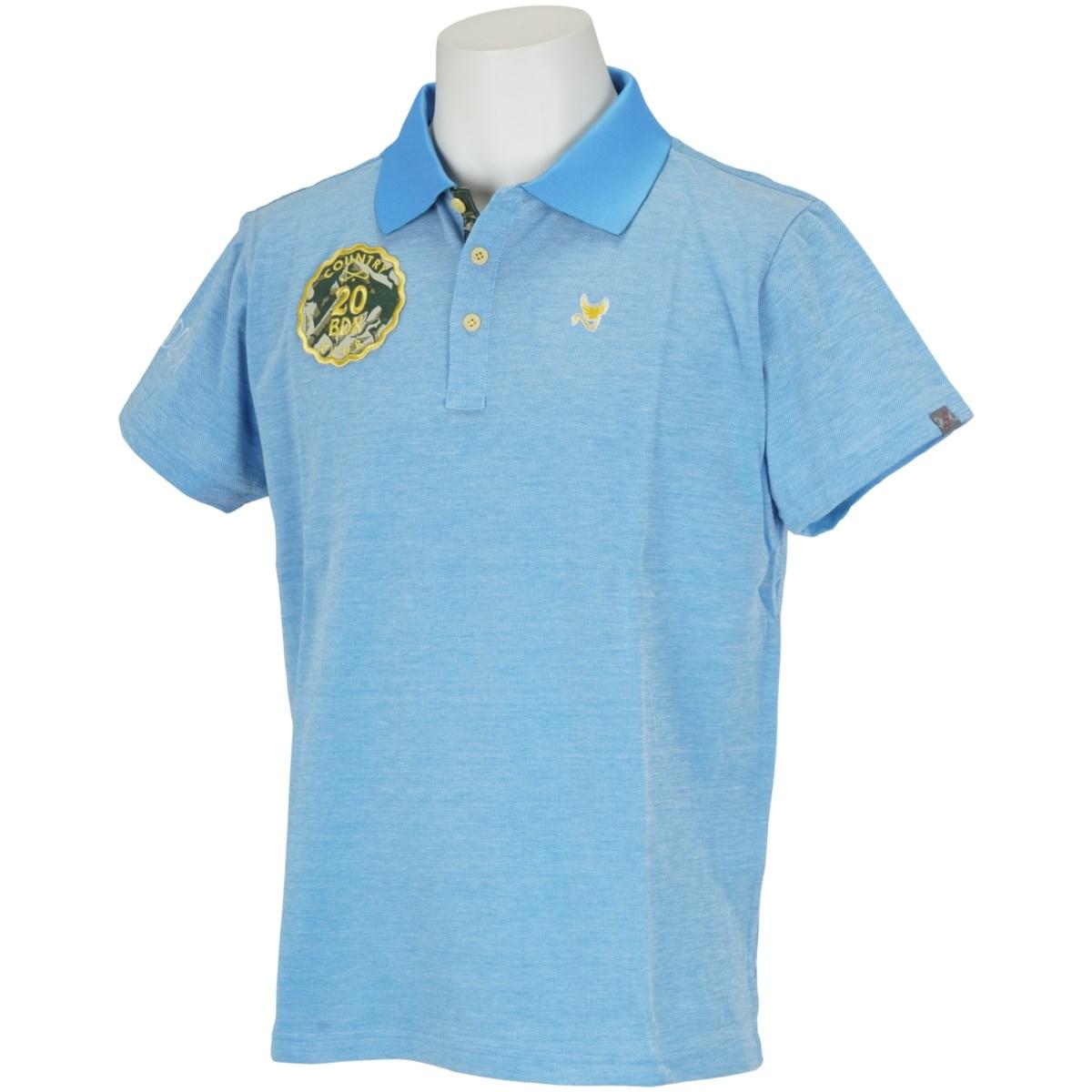 クランク(Clunk) サファリワッペン半袖ポロシャツ