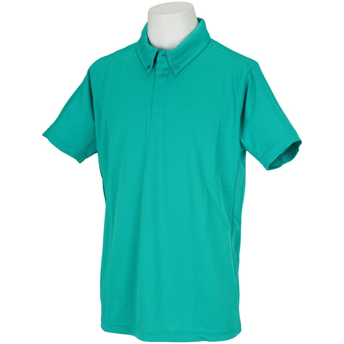 シームレススリーブ半袖ポロシャツ