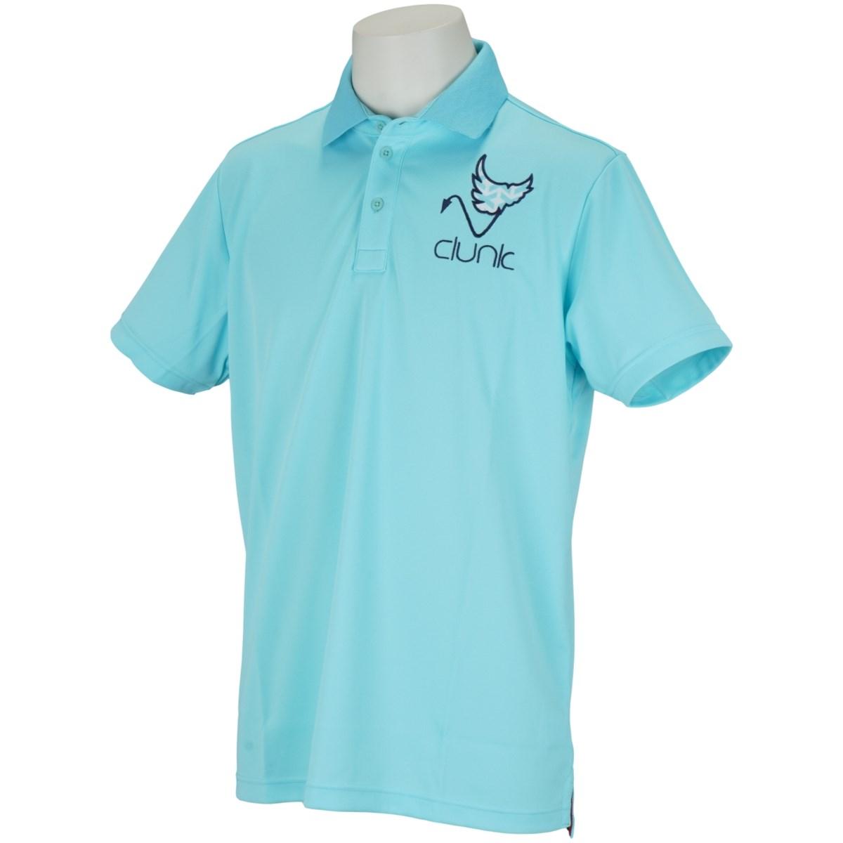 クランク(Clunk) 衿柄半袖ポロシャツ