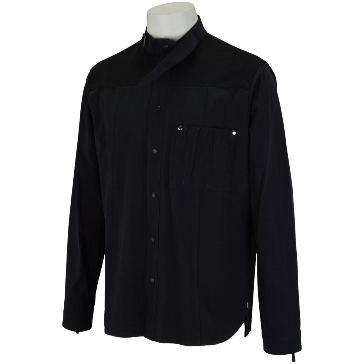 エネーレ ennerre シャツジャケット 48 ブラック