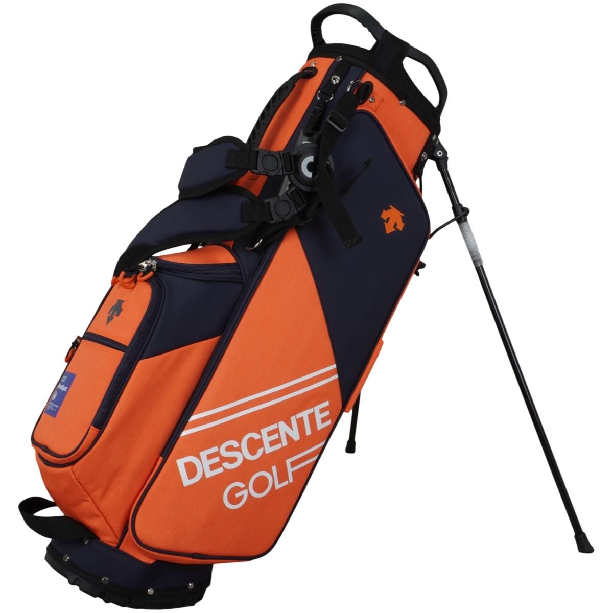 デサントゴルフ DESCENTE GOLF スタンドキャディバッグ オレンジ 00