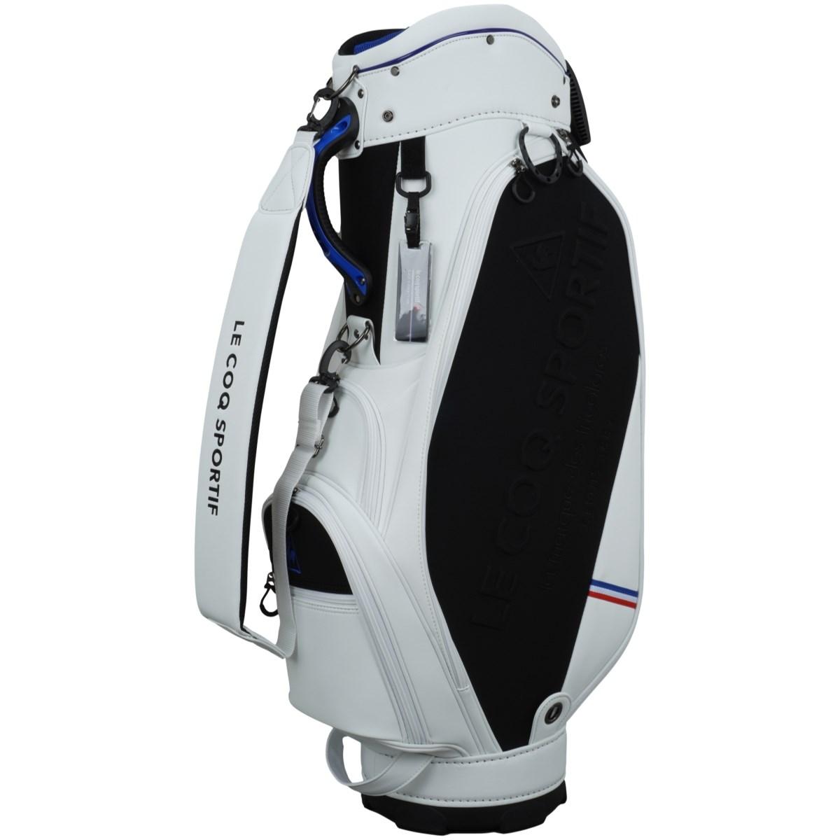 ルコックゴルフ Le coq sportif GOLF スタンドクラブケース付きキャディバッグ ホワイト 00