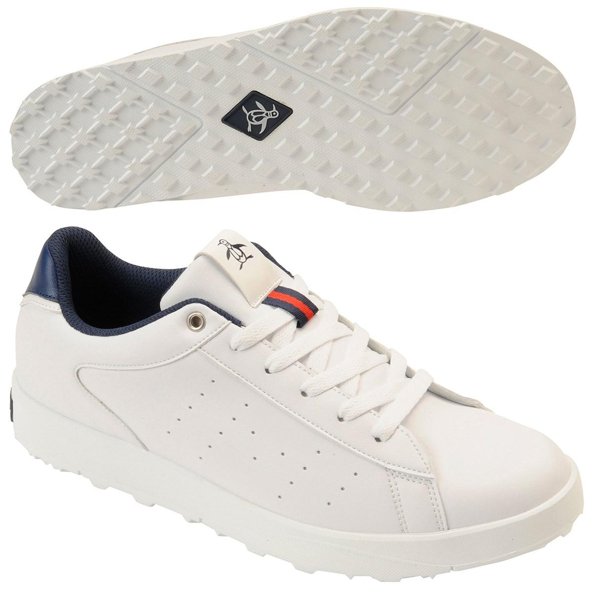 マンシングウェア Munsingwear ゴルフシューズ 25.5cm ホワイト 00