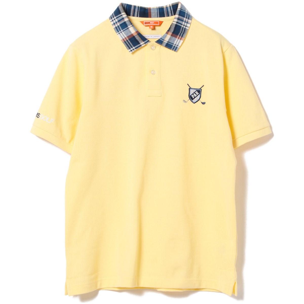 ビームスゴルフ BEAMS GOLF ORANGE LABEL エンブレム  ポロシャツ