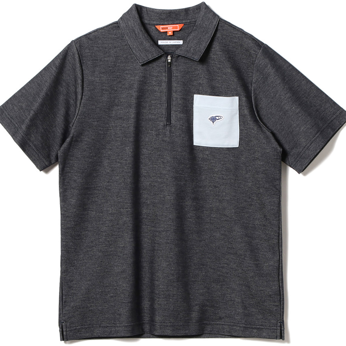 BEAMS GOLF ORANGE LABEL ブライト ポロシャツ