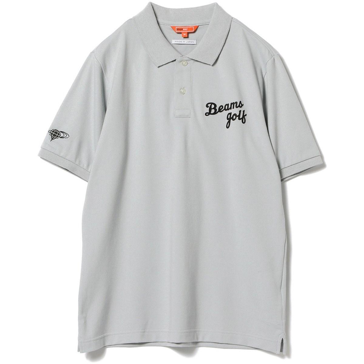 ビームスゴルフ BEAMS GOLF ORANGE LABEL シーズンロゴ ポロシャツ